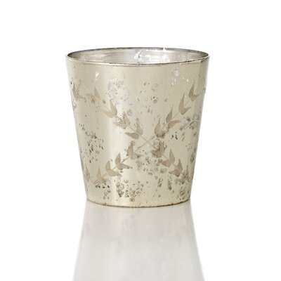Chateaux Etched Mercury Glass Vase by Sage & Co.
