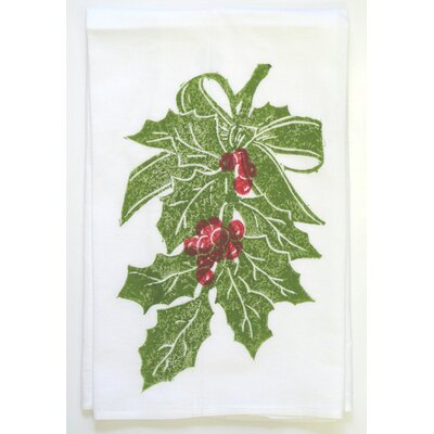 Holly Kitchen Towel by Lowcountry Linens