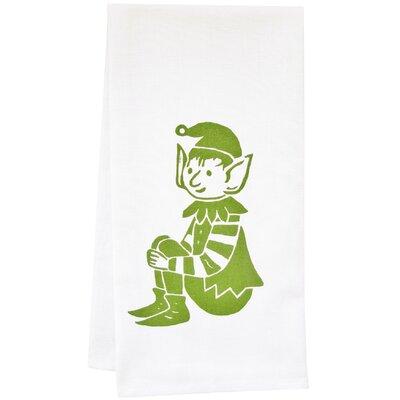 Organic Stripey Elf Tea Towel by Artgoodies