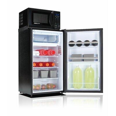 Safe Plug 3.6 cu. ft. Combination Mini Refrigerator and Microwave by Microfridge