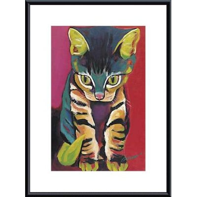 Printfinders 'Squirt' by Ron Burns Framed Painting Print