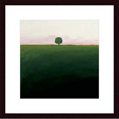 Printfinders 'One in Green' by Ron Rogers Framed Painting Print