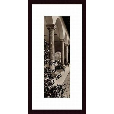 Printfinders 'Portico, Toscana' by Alan Blaustein Framed Photographic Print