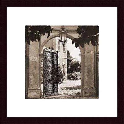 Printfinders Giardino Mortola by Alan Blaustein Framed Photographic Print
