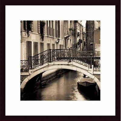 Printfinders Ponti di Venezia No. 1 by Alan Blaustein Framed Photographic Print