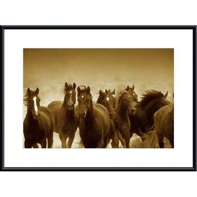 Printfinders The Meeting by Tony Stromberg by Tony Stromberg Framed Photographic Print