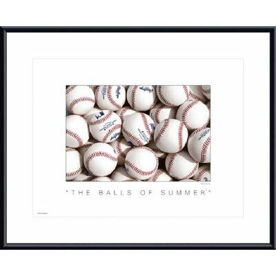 Printfinders The Balls of Summer by Don Marquess Framed Photographic Print