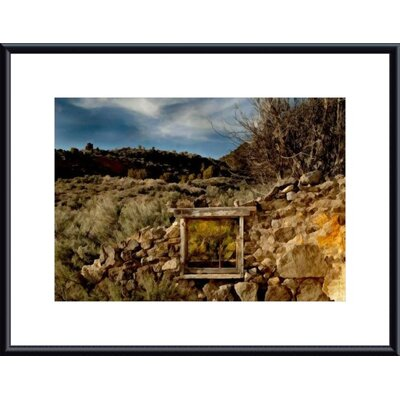 Window Treatment by John K. Nakata Framed Photographic Print by Printfinders
