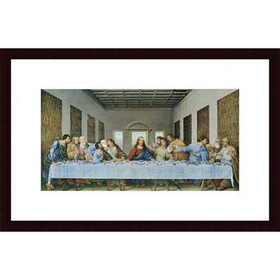 Printfinders The Last Supper by Leonardo da Vinci Framed Painting Print