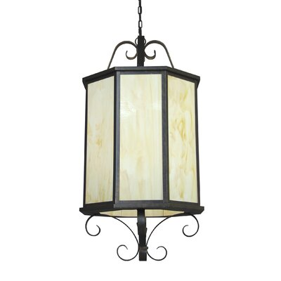 2nd Ave Design Musetta 8 Light Outdoor Hanging Lantern