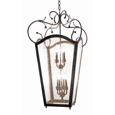2nd Ave Design Tessa 8 Light Outdoor Hanging Lantern