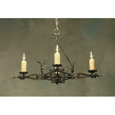2nd Ave Design Elianna 4 Light Chandelier
