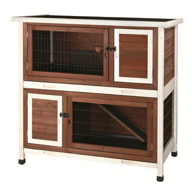 Double Decker lndoor Rabbit Hutch - Can Be Used For Guinea Pigs Also