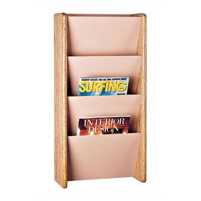 Peter Pepper 4 Pocket Magazine Rack