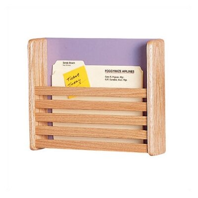 Peter Pepper One Pocket Medical & File Chart Holder with Slats