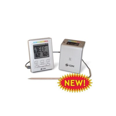 Wireless Probe Thermometer/Timer by CDN