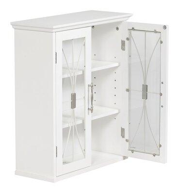 "Elegant Home Fashions Mason 20.5""  x 24.5"" Wall Mounted Cabinet"