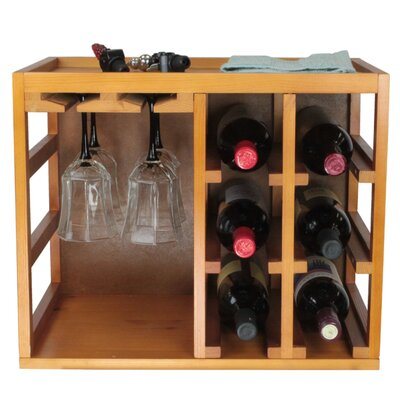Wine Bottle/Glasses Cage by Elegant Home Fashions
