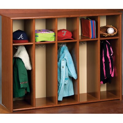 TotMate Eco 1 Tier 5-Section Toddler Locker