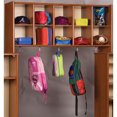 TotMate Eco 10-Section Cubby Wall Storage