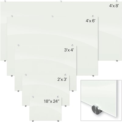 Balt Visionary Magnetic Wall Mounted Whiteboard
