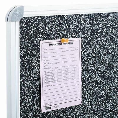 Balt Best-Rite® Recycled Rubber Tak Wall Mounted Bulletin Board, 3' x 4'