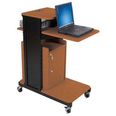 Balt Locking Cabinet for Extra Long Presentation AV Cart