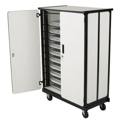 Balt 10-Compartment Laptop Storage Cart