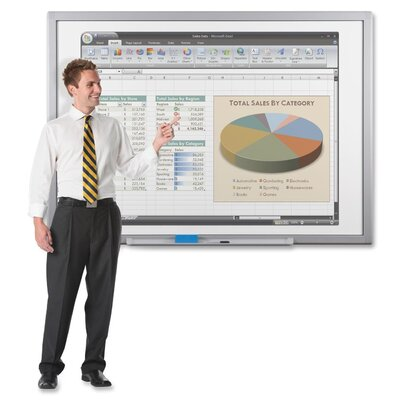 Balt USB Adapter Only Wall Mounted Interactive Whiteboard, 1' x 1'