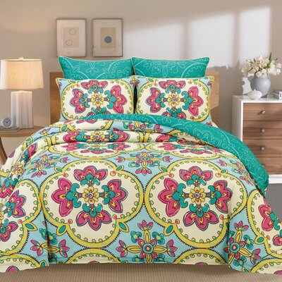 Couture Home 6 Piece Comforter Set by Peach Couture