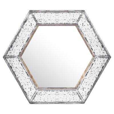 Gia Hexagon Wall Mirror by Lark Manor