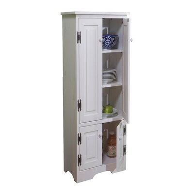 tms extra tall pine cabinet in white reviews wayfair