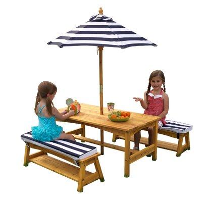 Kids 4 Piece Table & Chair Set by KidKraft