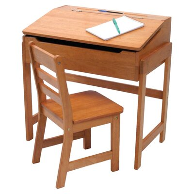 "Lipper International 25"" W Art Desk and Chair"