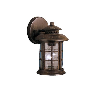 Kichler Rustic 1 Light Outdoor Wall Lantern & Reviews