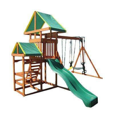 Swing Town Woodlands Gym Swing Set