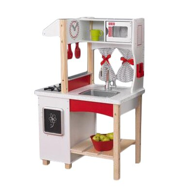 kidkraft island kitchen amp reviews wayfair kidkraft primary colors kitchen island quicua com