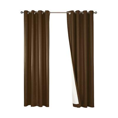 Nantucket Cotton Grommet Single Curtain Panel Product Photo