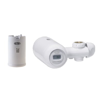 Electric Metered 200 Gallon Deluxe Faucet Mount Premium Water Filtration Filter Product Photo