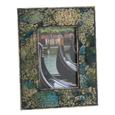 Fes Crushed Mosaic Picture Frame I by Shiraleah