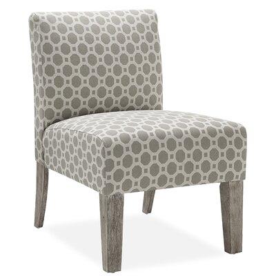Palomar Slipper Chair in Grey by DHI