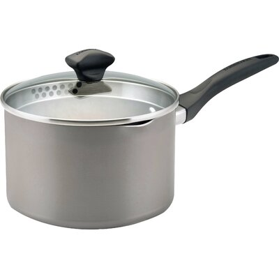 Aluminum Dishwasher Safe Saucepan with Lid by Farberware
