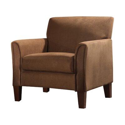 Kingstown Home Warner Microfiber Arm Chair & Reviews | Wayfair