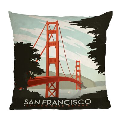 Anderson Design Group San Francisco Throw Pillow by DENY Designs