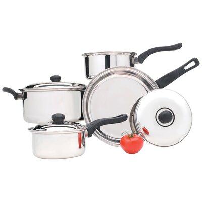 7 Piece Cookware Set by Utica Cutlery Company