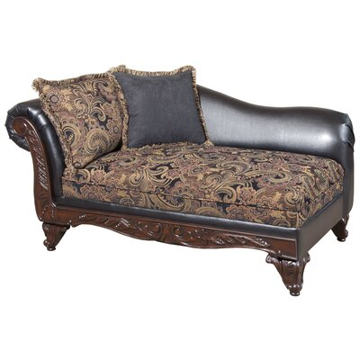 Floral Chaise Lounge by Serta Upholstery