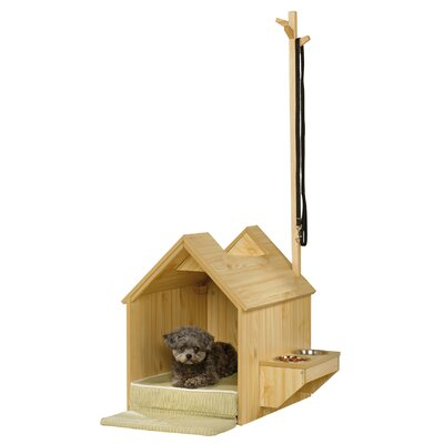 Sauder indoor dog house amp reviews wayfair
