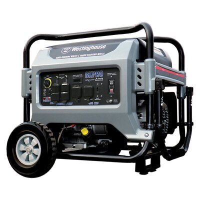 Portable 10,000 Watt Gasoline Generator with Electric Start by Westinghouse Power Products
