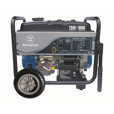 Westinghouse Power Products 7,500 Watt Generator with Electric Start
