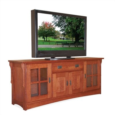 Craftsman Entertainment TV Stand by Anthony Lauren
